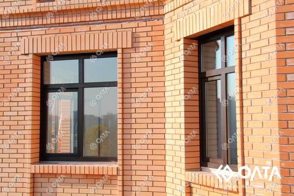 Металлопластиковые цветные окна