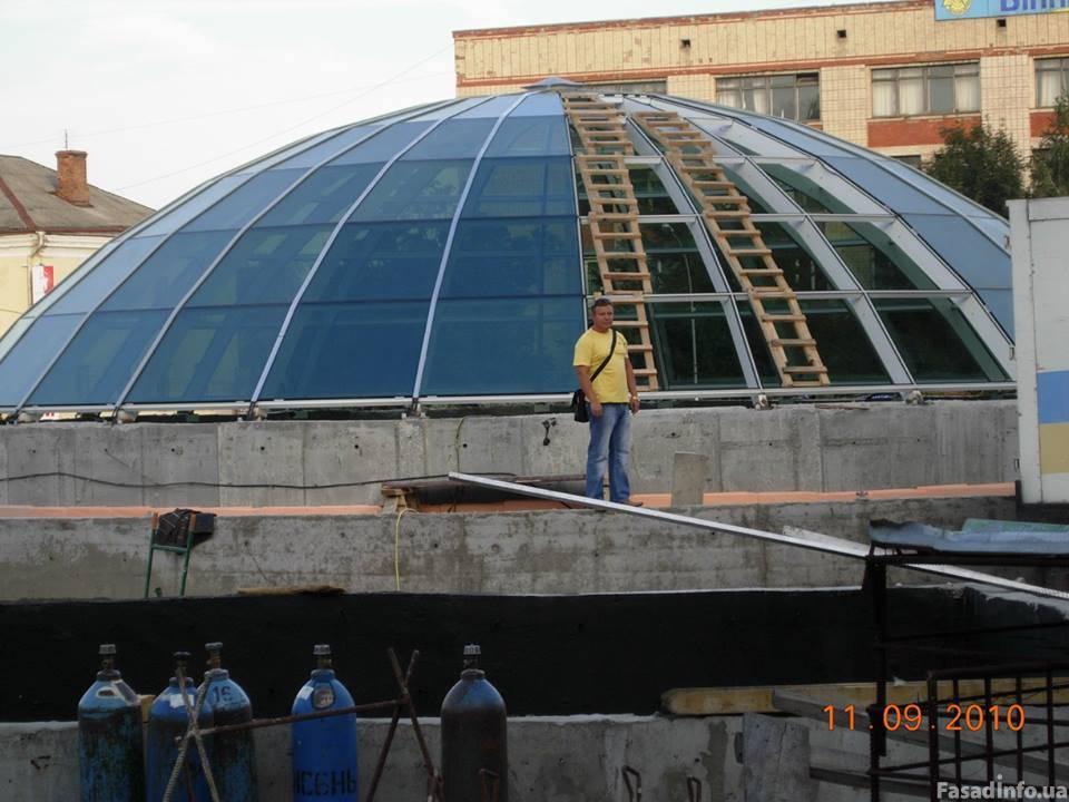 Фасадные Системы - Купола
