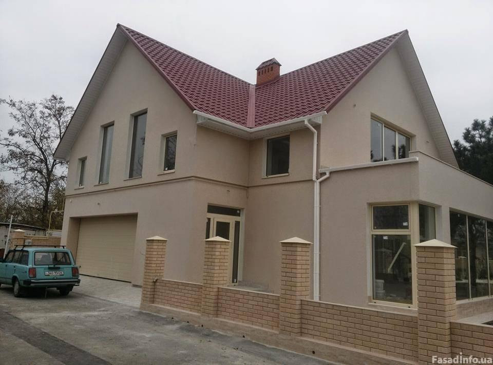 Остекление частного дома алюминием (Одесса)