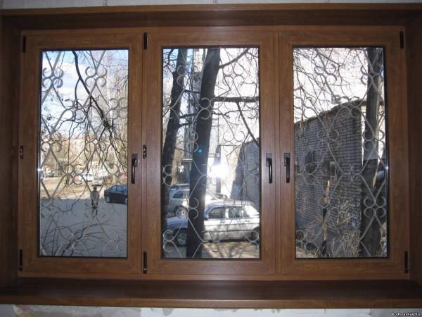 Окно металлопластиковое с ламинацией