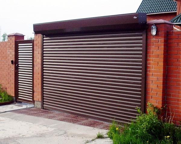 Изготавливаем роллетные ворота для гаражей и въездов