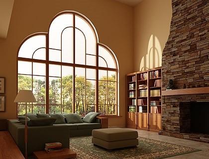Окна с декоративными раскладками