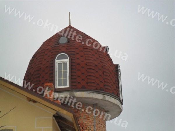 Металлопластиковые окна арочного типа