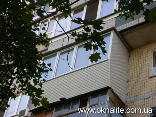 Металлопластиковые балконы и лоджии