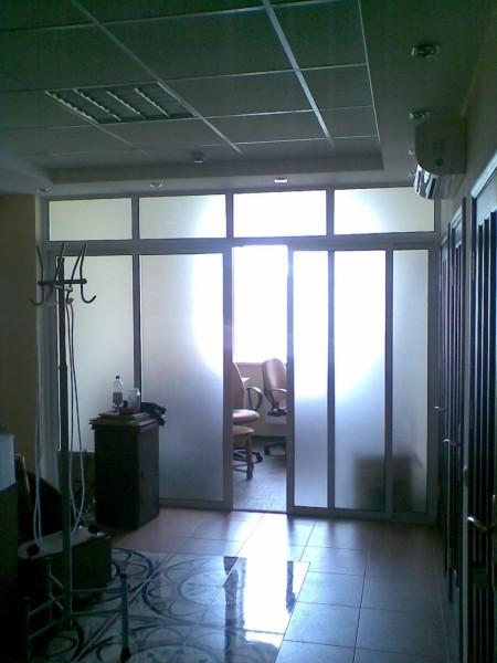 Раздвижные двери алюминиевые