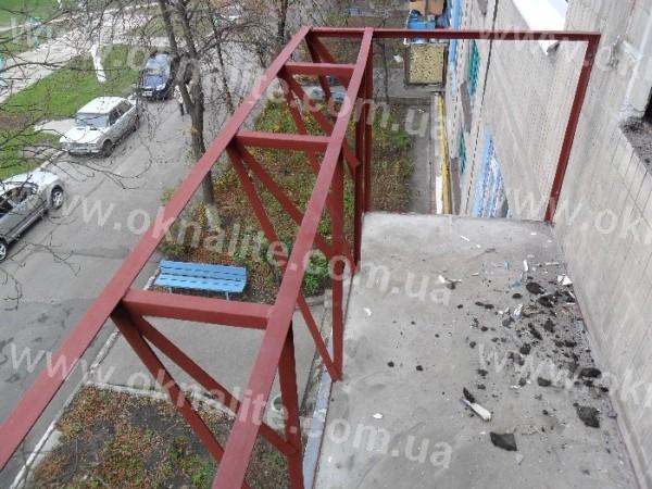 Сварка выноса балкона
