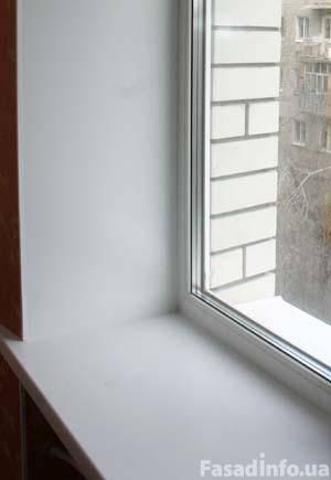 Откосы на окна в Кривом Роге, отделка и ремонт проемов