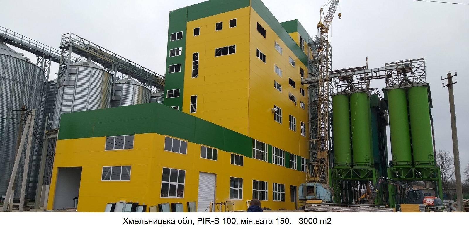 Сэндвич панели PIR, PUR, MW. Будівельно-монтажні роботи