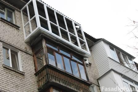 Вынос балкона по полу. киев, цена. купить.