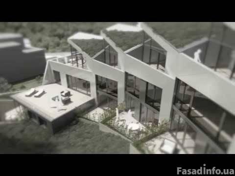 Уникальное ступенчатое здание
