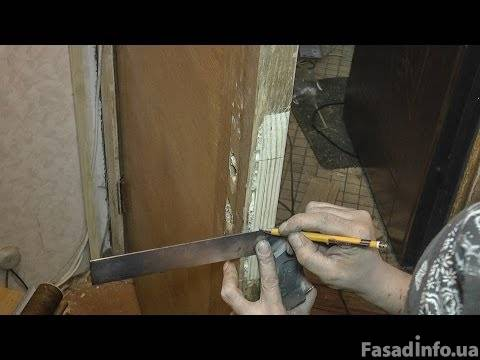 Реставрация двери