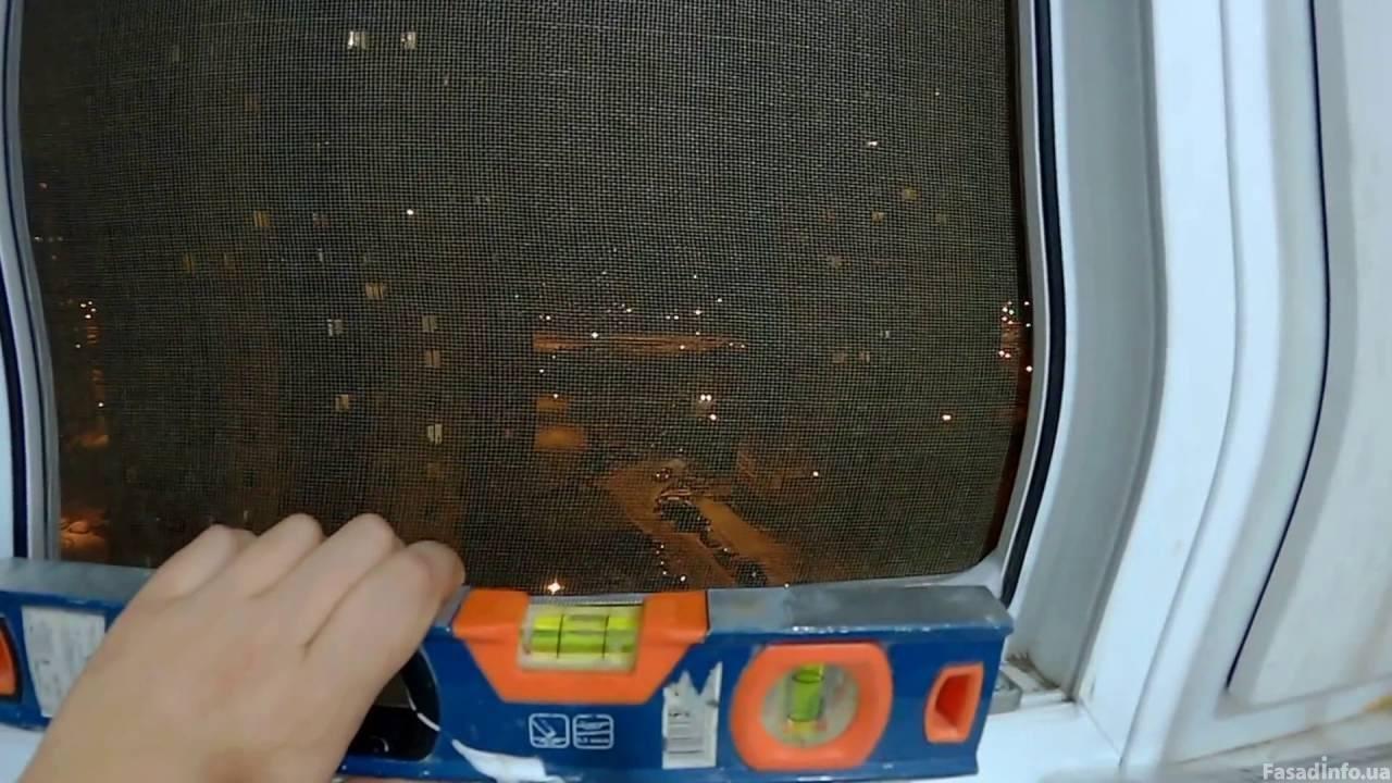 Осмотр и приём ПВХ окна после установки